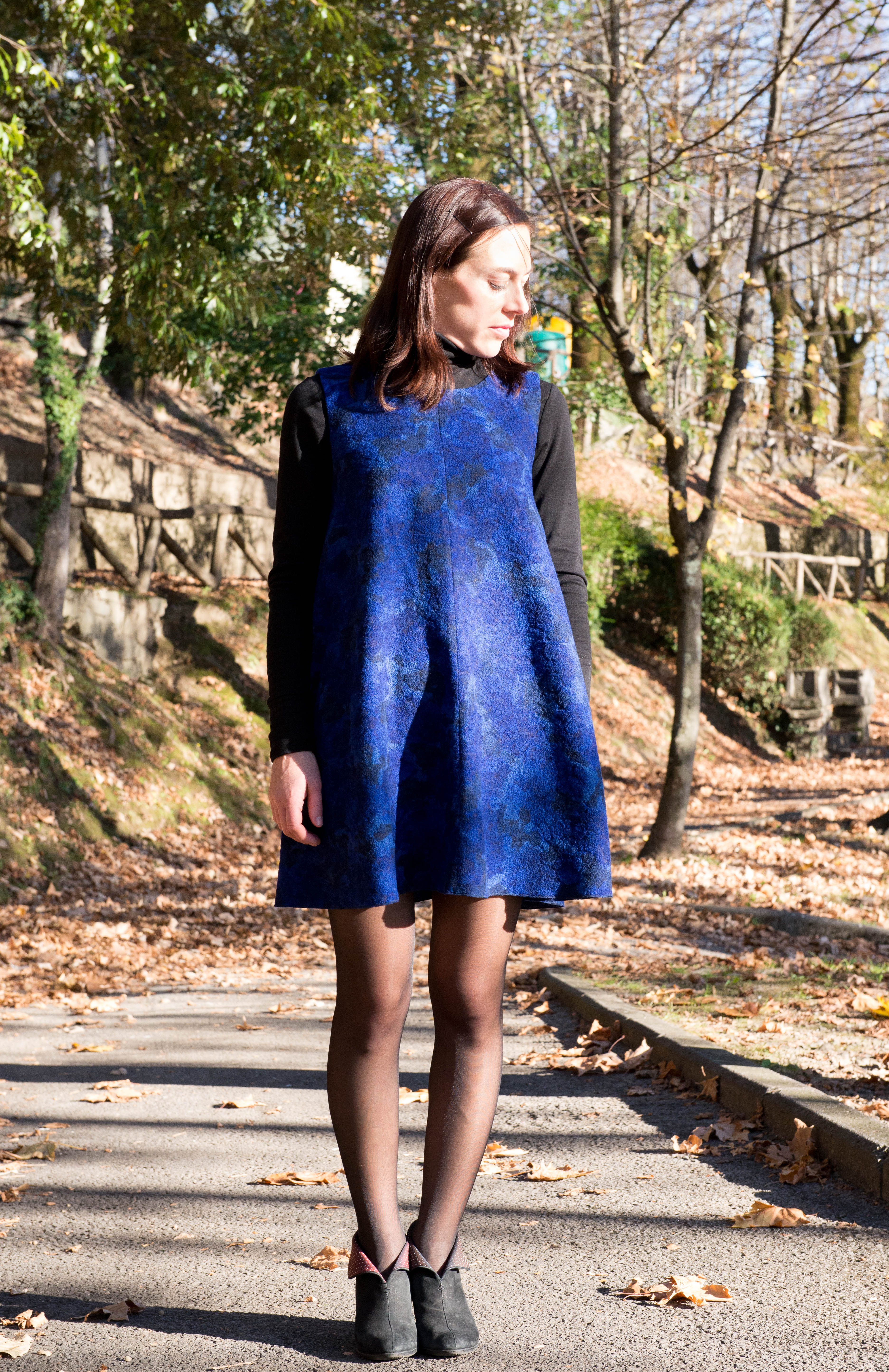 Papercut Patterns | Sway Dress – Carly in Stitches